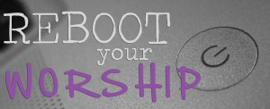 Reboot Your Worship Logo 7