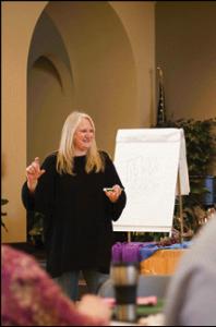 Marcia teaching