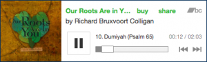 "Listen to the song ""Dumiyah"" by Richard Bruxvoort Colligan at this link: http://www.psalmimmersion.com/#!dumiyah/c23wk"